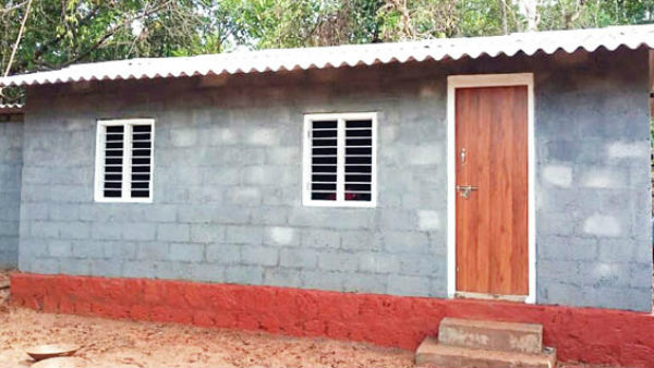 Sullia Tahsildar Builds Home For The Destitute On Road