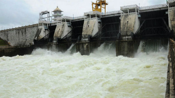 Due to heavy rain extra water released from KRS and kabini dam