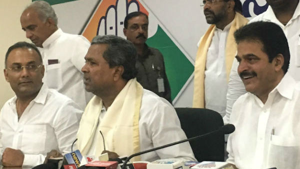 Karnataka congress appoint observers for 17 dissident MLAs constituency