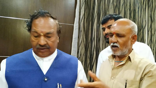 KS Eshwarappa Upset With Basanagouda Patil Yatnal Comment