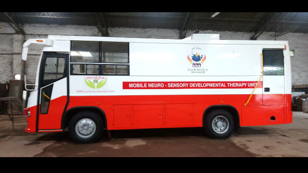 Mobile Neurosensory Development Therapy Center In Mangaluru Starting From Aug 10