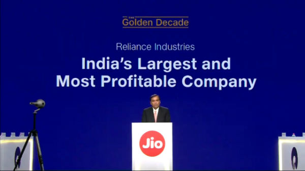 Reliance AGM 2019 : Jio Fiber to be launched on Sep 5 starting Rs 700 per month