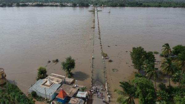 Ndrf Protected 14 Foreigners In Virupapura Gadde