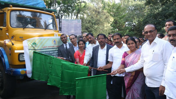 Plastic Road In Bengaluru : BBMP Handover The 5 Ton of Plastic