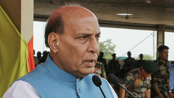 Bilateral Talk Only About Pak Occupied Kashmir, Said Raj Nath Singh