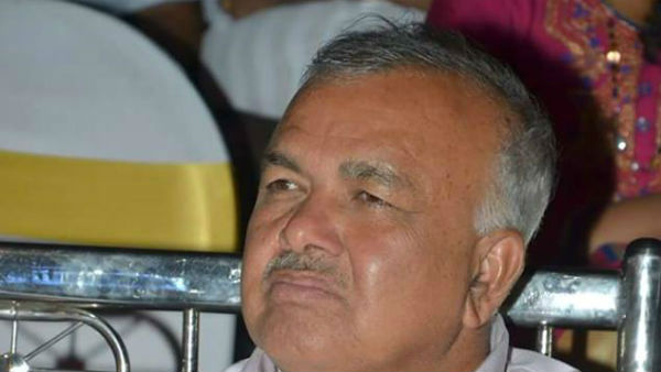 BJP Should Give Minister Post To A Reddy Caste MLA: Ramalinga Reddy