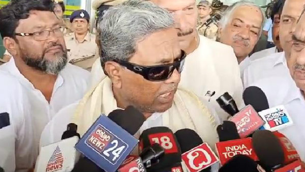 Siddramaiah Slams Central Government
