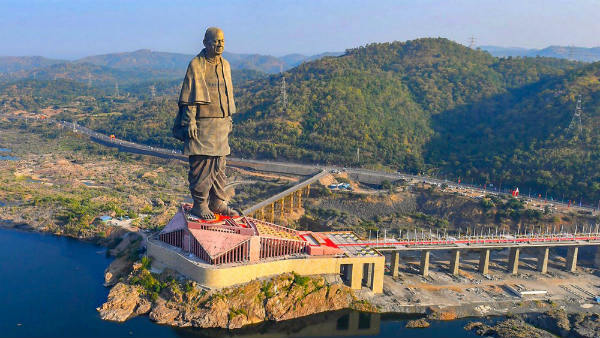 Statue of Unity In The Lit Of TIME Magazines Worlds 100 Greatest Places of 2019