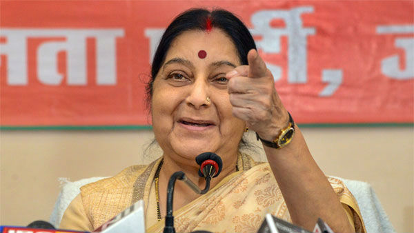 Sushma Swaraj foot prints in personal and political life