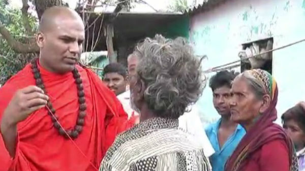 Swamiji Of Davanagere Beg To Stop Bad Habit