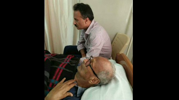 VG Siddartha With His Father Photo Viral In Social Media