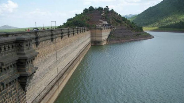 VV Sagar Dam Remains Drained In Hiriyuru