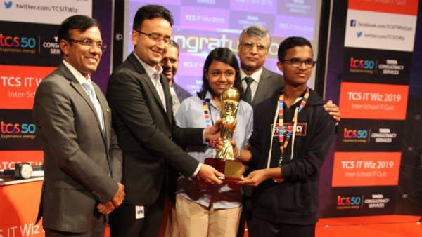 Presidency School R.T Nagar Wins the Bangalore Edition of TCS IT Wiz 2019