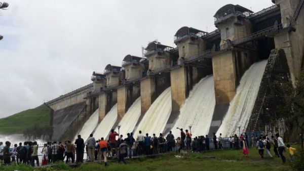 Heavy Rain in Mysuru region: water level raised in dams