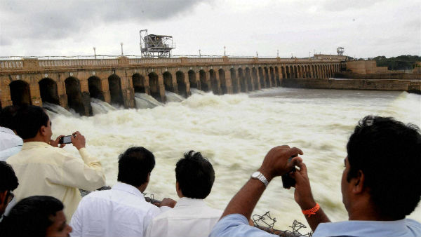 Inflow To KRS Dam Rises : Water Storage Touched 100 Feet Mark