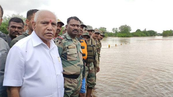 Yeddyurappa asks public to help government to help flood affected people