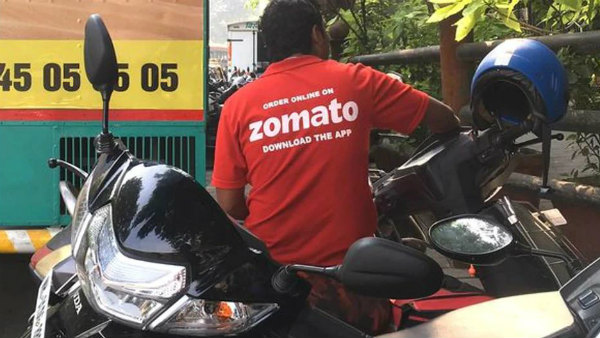 we will not deliver pork and beef: Zomato delivery boys protest