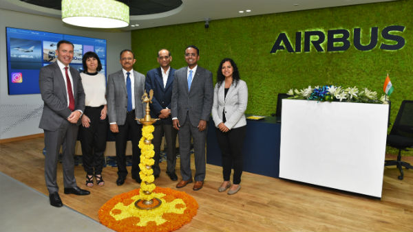 Airbus Leverages Indian Talent Inaugurates 500 Person Nature Inspired It Facility In Bengaluru