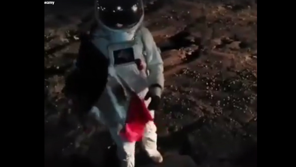 Badal Nanjudaswamy Astronaut Video Recreated in Mexico