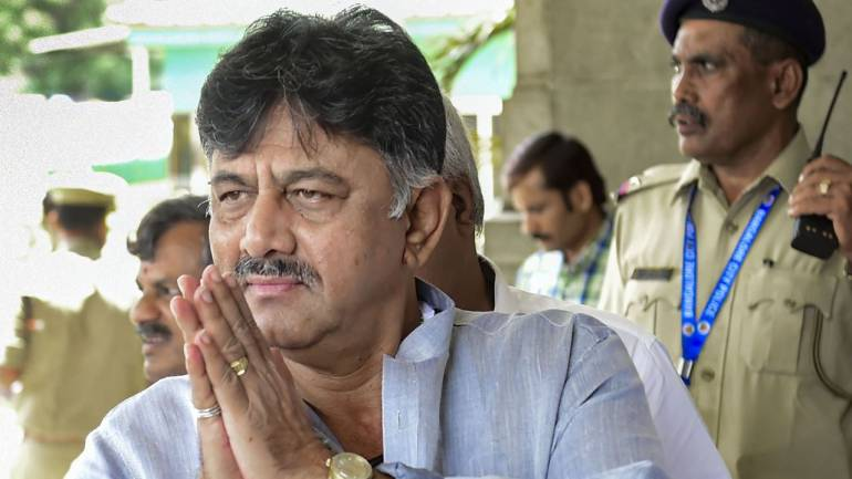 DK Shivakumar Express His Problems Facing In ED Custody