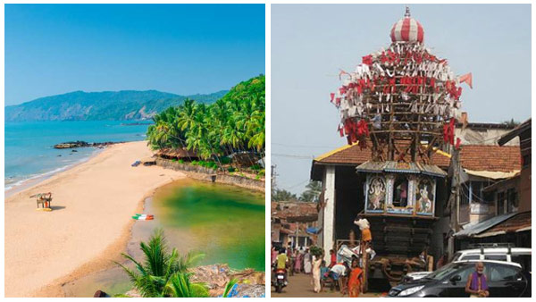 KSTDC winter package tour: Goa- Gokarna Five days
