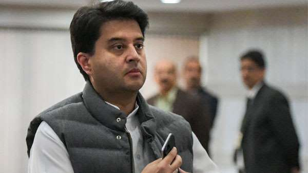 Jyotiraditya Scindia message for Kamal Nath