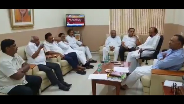 KPCC Leaders Had Meeting After DK Shivakumar Sent To ED Custody
