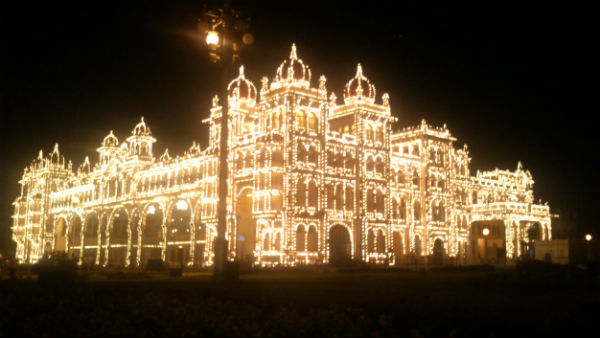 Different types of lights will appear on this Mysuru dassara