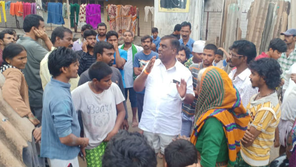 MLA G Somashekhara Reddy Visited Rain Affected Area In Ballary