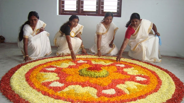 Kerala People Celebrating Onam With Hope