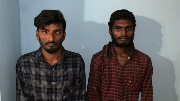 Police Arrested Two For Selling Ganja At Ramanagar Bus Station