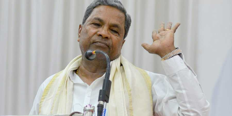 EX CM Siddaramaiah slams Centre for D K Shivkumar arrest issue