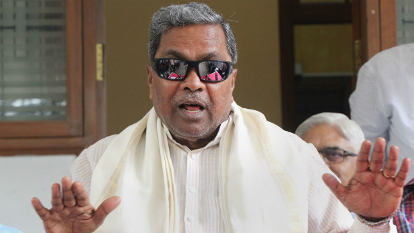 Siddaramaiah Clarified Those Who Pelted Stone In Protest Were Not Congress Activists