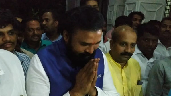 Sriramulu Reacts To Somashekhar Reddy Statement