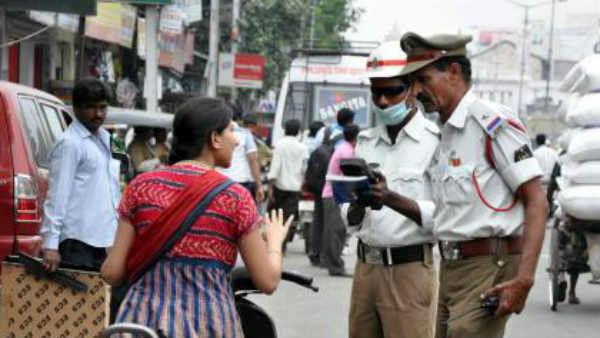 Woman Threatens to Commit Suicide After Get Challan