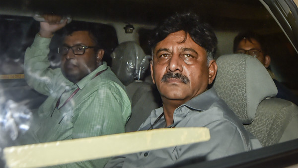 DK Shivakumar Given To Judicial Custody, But Not To Jail