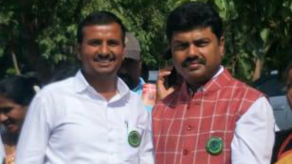 BJP Yuva Morcha Leader Threatens Forest Department Officer