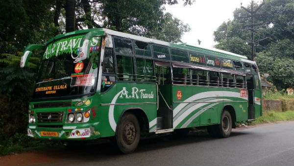 20 Year Old Youth Steals Bus and Drive It To Udupi