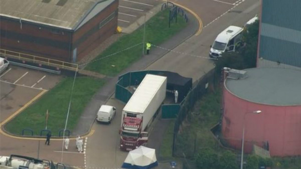 39 Found Dead In Container Near London; Investigation Initiated