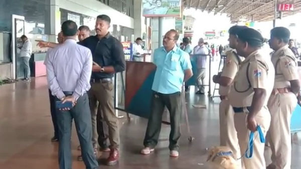 Blast In Hubballi Railway Station Two Suspended