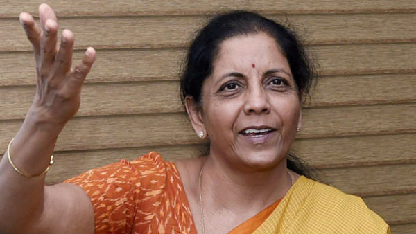 Nirmala Sitharaman Came To Hubli, Face Protest