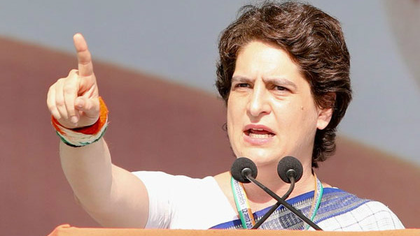 Economy Is Collapsing They Are Running Comedy Circus Priyanka Gandhi
