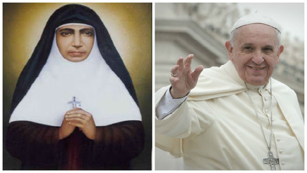 Pope Francis declares Kerala nun Mariam Thresia as Saint
