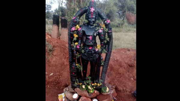 Chitradurga: The Oldest Idol Detect In Farmer Land.