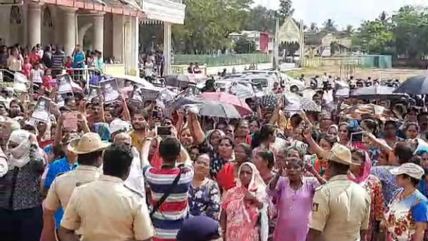 Assistant Father Mahesh Death; Thousands Of People Protest In Shirva