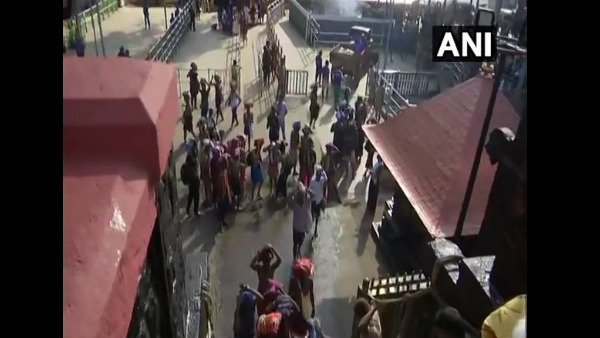 Police Stops A 12 Year Old Girl From Trekking To Sabarimala