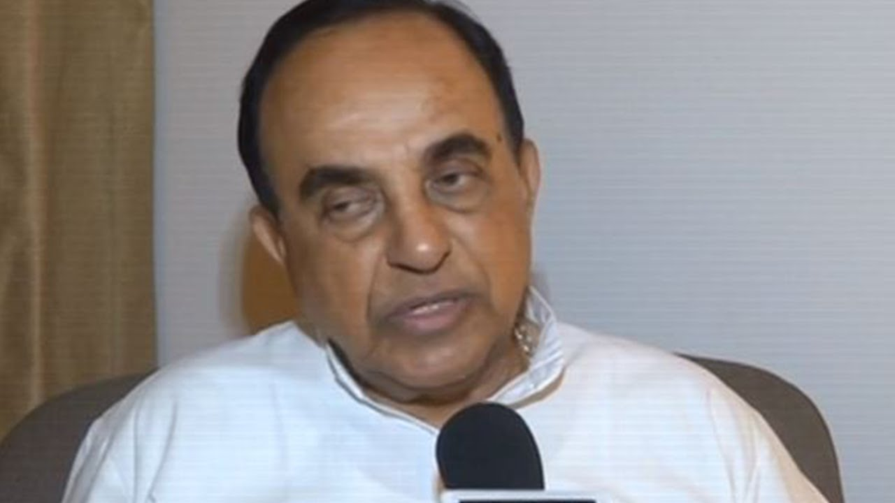 After Maharashtra Development, Subramanian Swamy Tweeted With Disappointment