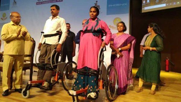 IIT Madras Launches Indias First Standing Wheelchair