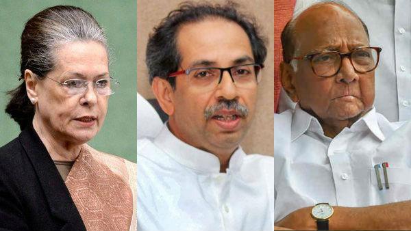 ಶನಿವಾರ ರಾಜ್ಯಪಾಲರಿಗೆ ಪತ್ರ ನೀಡಲಿರುವ ಶಿವಸೇನೆ-ಕಾಂಗ್ರೆಸ್-NCP
