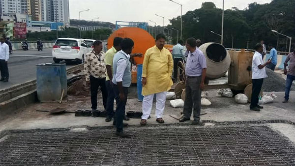 Vehicle Movement Open In Summanali Flyover In One Week